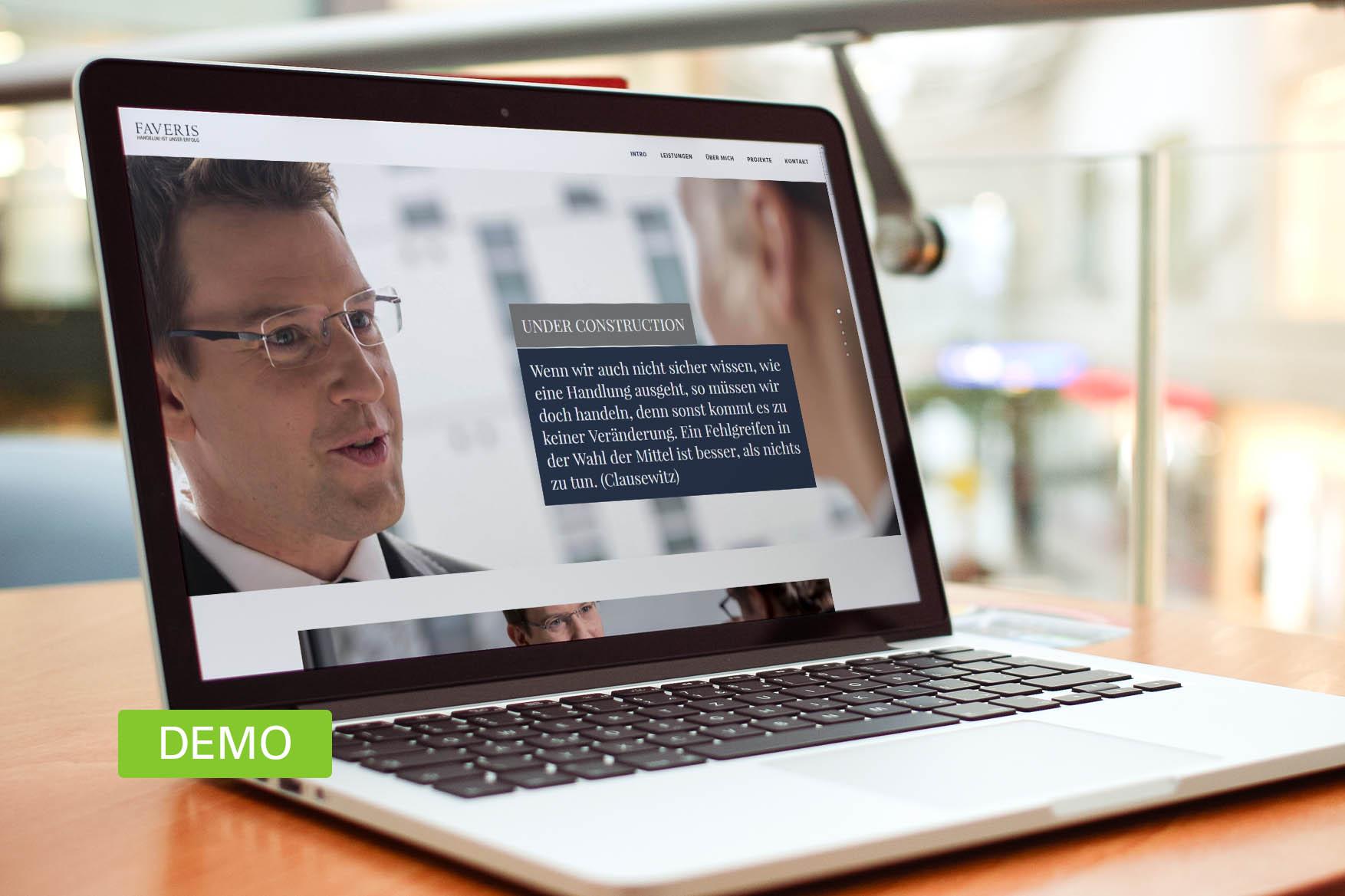 referenz-website-faveris